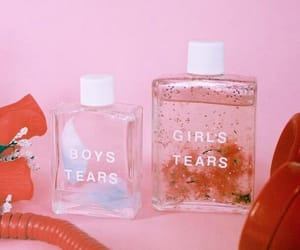 pink, tears, and boy image