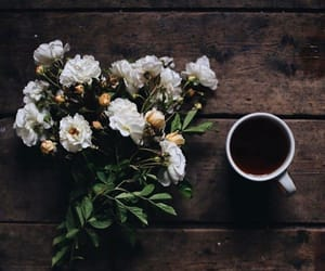 coffee, flower, and photography image
