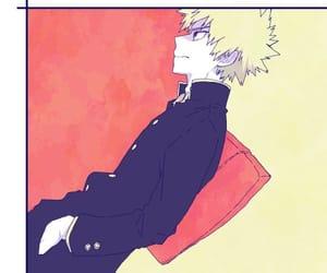 anime, bakugou katsuki, and bnha image