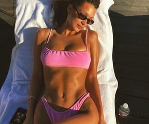 bella hadid, bikini, and model image