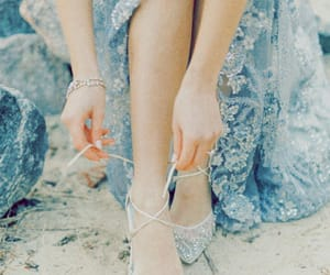 blue, aesthetic, and cinderella image