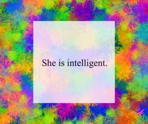 feminist, girl, and intelligent image