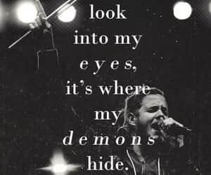 demon, imagine dragons, and Lyrics image