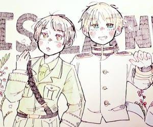 hetalia, aph japan, and aph england image