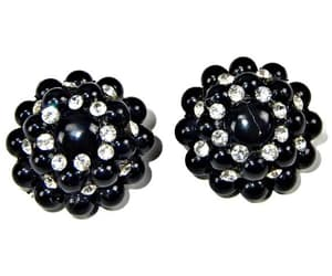 1960s, etsy, and beaded earrings image