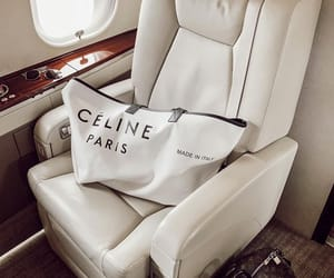 celine, airplane, and travel image