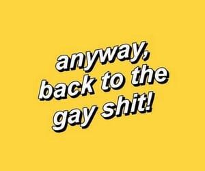 yellow, aesthetic, and gay image