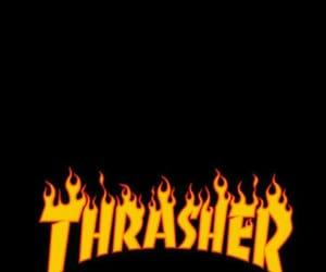 wallpaper, thrasher, and tumblr image