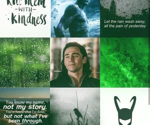 aesthetic, god of mischief, and character image