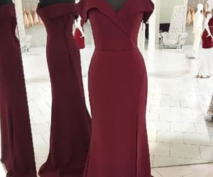prom dress long, burgundy party dresses, and 2018 party dresses image