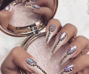 nails, makeup, and beauty image
