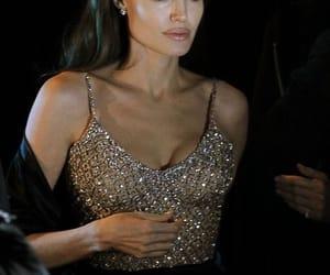 Angelina Jolie and dress image