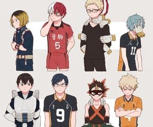 haikyuu, iida tenya, and nishinoya yuu image