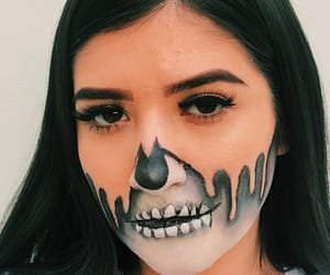 Halloween, makeup, and october image