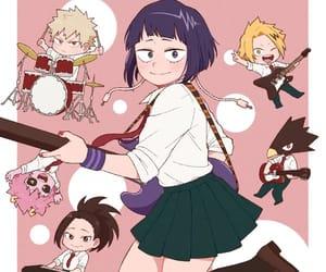 bakugou katsuki, bnha, and momo yaoyorozu image