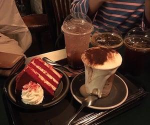 food, theme, and dark image