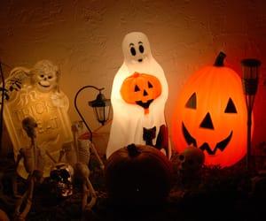 decor, Halloween, and vintage image