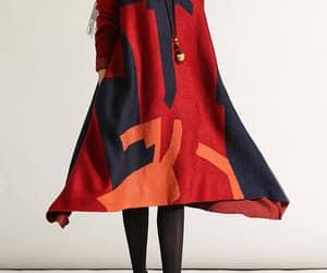 etsy, winter dress, and oversize dress image