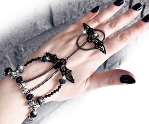 slave bracelet, crystal bracelet, and halloween jewelry image