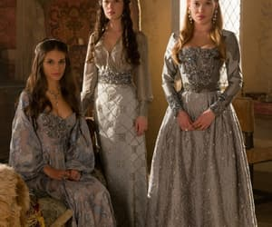 anna popplewell, caitlin stasey, and reign image