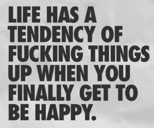fucking, life, and quote image