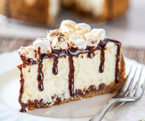cake, s'mores, and cheesecake image