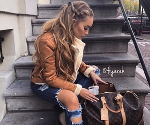 louis vuitton lv, sac bag bags, and meuf frappe girl image