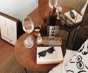 wine, decor, and room image