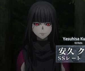 anime, anime girl, and red eyes image