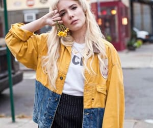 aesthetic, halsey, and yellow kép