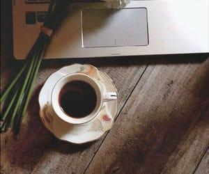 arabic, coffee, and flowers image