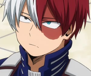 anime, todoroki shouto, and shouto image