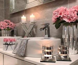 bath, beauty, and candles image