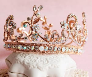aesthetic, cute, and crown image
