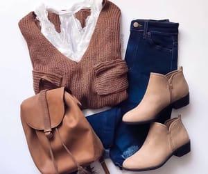 autumn, boots, and fashion image