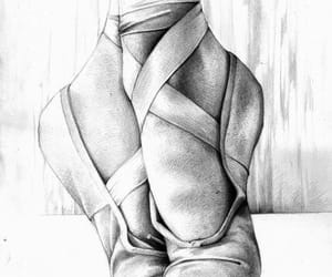 ballet, drawing, and art image
