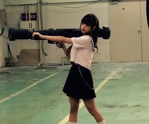 gun, japanese, and kawaii image