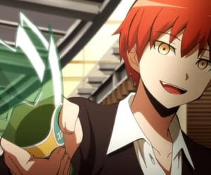karma akabane, anime, and assassination classroom image