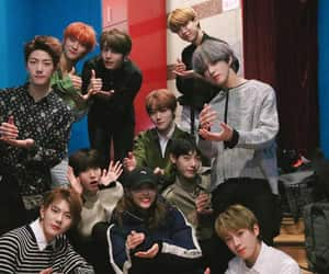 golden child, woollim, and lovelyž image