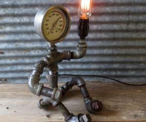 bulb, grim, and lamp image