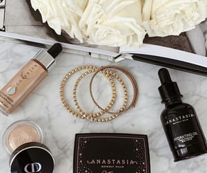 flowers, anastasia beverly hills, and jewelry image