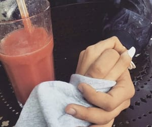 couple, madison beer, and hands image