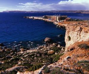 bay, nature, and beach image
