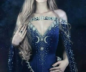 fantasy, stars, and moon image