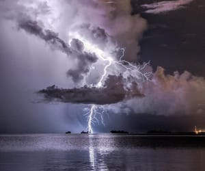 lighting, storm, and thunderstorm image