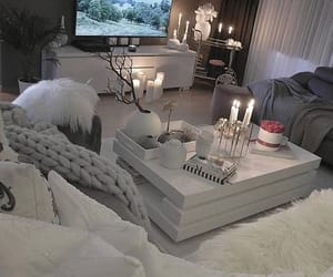 candles, white, and home decor image