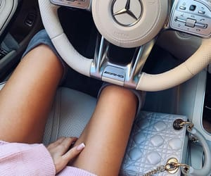 car, legs, and tan image