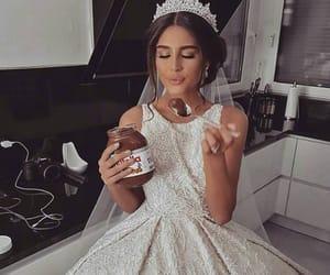 wedding, food, and beauty image