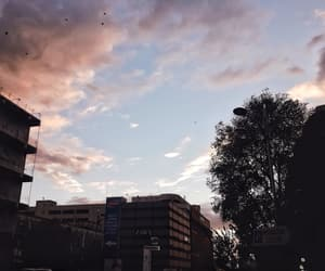 aesthetic, city, and clouds image