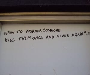 kiss and murder image